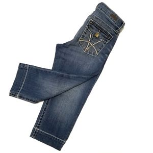 Kut from the Kloth mid rise cropped jeans 4